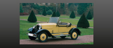 luxury two-seater 1928