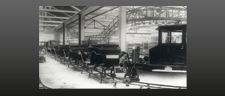 Assembly-line production of 4/16 hp 1926